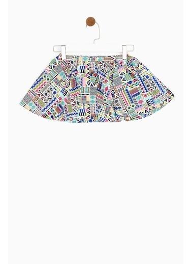 Riccione Riccione Kız Bebek Desenli Etek 19SS0RR2301 Renkli